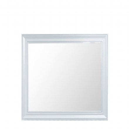Toulouse White Large Wall Mirror